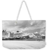 Ships All In A Row Weekender Tote Bag