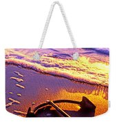 Ships Anchor On Beach Weekender Tote Bag