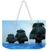 Ships In Sail Weekender Tote Bag