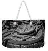 Ships Rope And Pully Weekender Tote Bag