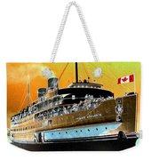 Shipshape 6 Weekender Tote Bag