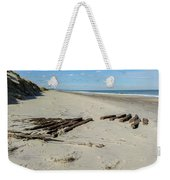 Shipwreck On The Beach Weekender Tote Bag