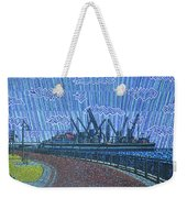 Shipyards A Newport News Weekender Tote Bag