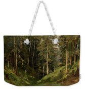 Shishkin, Ivan 1832-1898 Forest Clearing Weekender Tote Bag