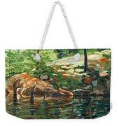 Shoal Lake - Granite Shore Weekender Tote Bag