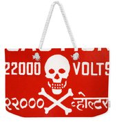 Shocking Weekender Tote Bag