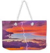 Shocking Pinks Sunset Weekender Tote Bag