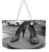 Shoe Sculpture Grand Junction Co Weekender Tote Bag
