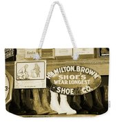 Shoe Shopping In The 30's Weekender Tote Bag