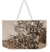Shoe Tree In Sepia Weekender Tote Bag