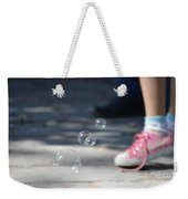 Shoelace In Springtime Weekender Tote Bag