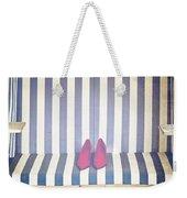 Shoes In A Beach Chair Weekender Tote Bag