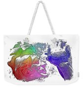 Shoot For The Sky Cool Rainbow 3 Dimensional Weekender Tote Bag