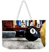 Shooting For The Eight Ball Weekender Tote Bag