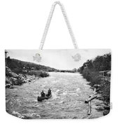 Shooting The Rapids In Maine Weekender Tote Bag
