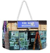 Shop Behind The Wall Weekender Tote Bag