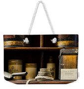 Shop Counter Weekender Tote Bag