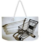 Shopping Cart Reflection Art  Weekender Tote Bag