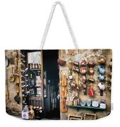 Shopping In Tuscany Weekender Tote Bag