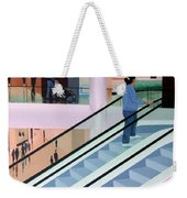 Shopping Mall Weekender Tote Bag