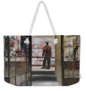 Shopping Solo Weekender Tote Bag