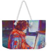 Shopping The Art Fair Weekender Tote Bag