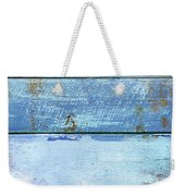 Shore And Sunset Weekender Tote Bag