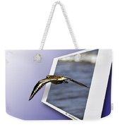 Shore Bird In Flight Weekender Tote Bag
