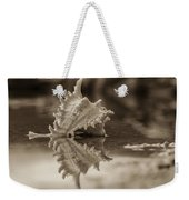 Shore Shell In Sepia Weekender Tote Bag
