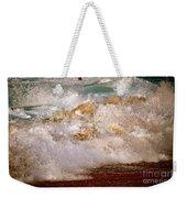 Sunset Beach Splash Weekender Tote Bag