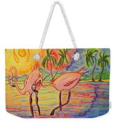 Shorebirds Weekender Tote Bag