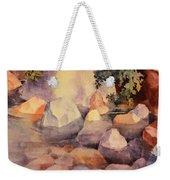 Shoreline Rocks Weekender Tote Bag