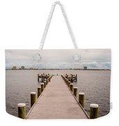 Shoreline View Weekender Tote Bag