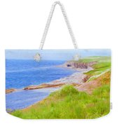 Shores Of Newfoundland Weekender Tote Bag