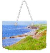 Shores Of Newfoundland Weekender Tote Bag