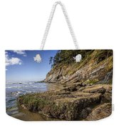 Short Sands Rocks Weekender Tote Bag