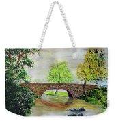 Shortcut Bridge Weekender Tote Bag
