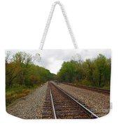 Shortest Distance Weekender Tote Bag