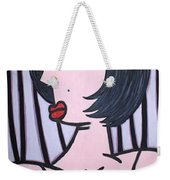 Show Girl Weekender Tote Bag by Thomas Valentine