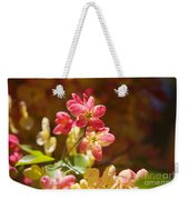 Shower Tree Blossoms Weekender Tote Bag