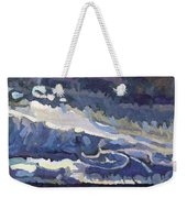 Showers Behind The Cold Front Weekender Tote Bag
