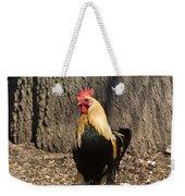 Showy Rooster Posed Weekender Tote Bag