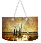 Shrimp Boat In Charleston Weekender Tote Bag