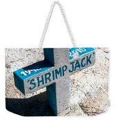 Shrimp Jack Weekender Tote Bag