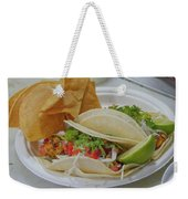 Shrimp Taco Weekender Tote Bag