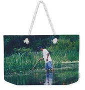 Shrimping In The Bayou Weekender Tote Bag