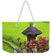 Shrine In Rice Field Weekender Tote Bag