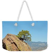 Shrub And Rock At Canon City Weekender Tote Bag