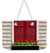 Shutter And Flowers Weekender Tote Bag