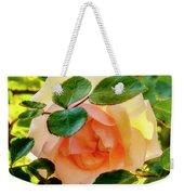 Shy Rose Weekender Tote Bag